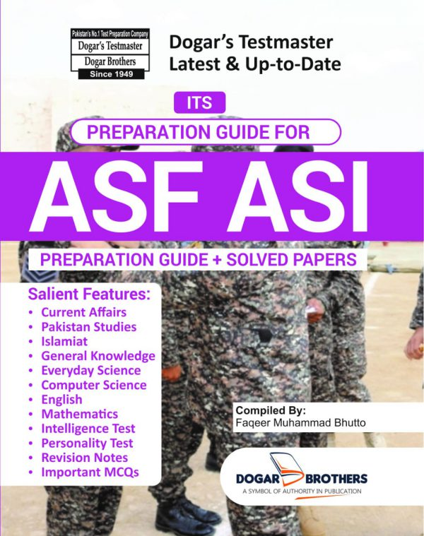 ASI Guide ( Airports Security Force – ASF)