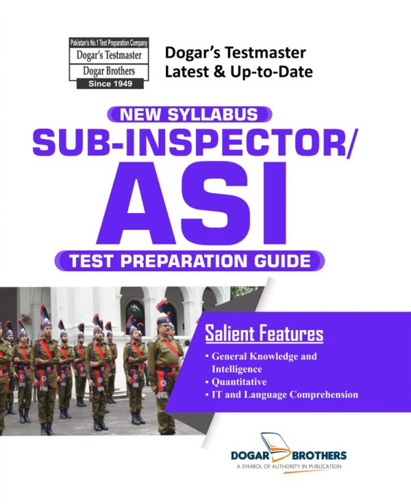Sub-Inspector / ASI Test Preparation Guide by Dogar Brothers