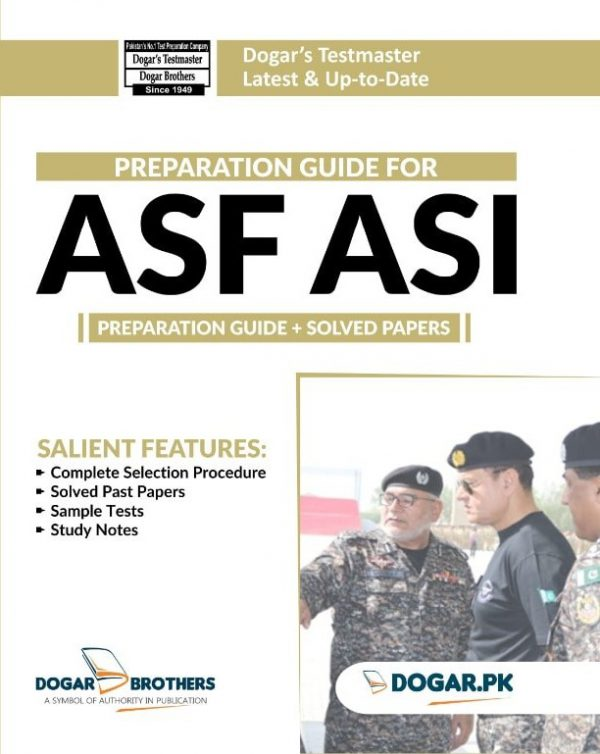 Preparation Guide for ASF ASI by Dogar Brothers