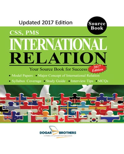 International Relation ( CSS, PMS) 2017 Edition