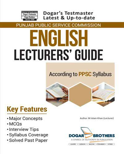 Lecturer English Guide – PPSC