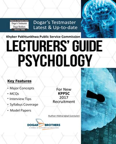 Lecturers Guide Psychology – KPPSC