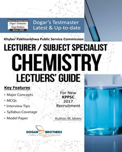 Lecturer Chemistry Guide – PPSC