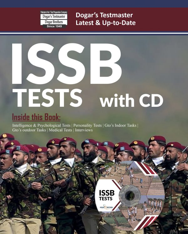 ISSB Tests Book by Dogar Brothers
