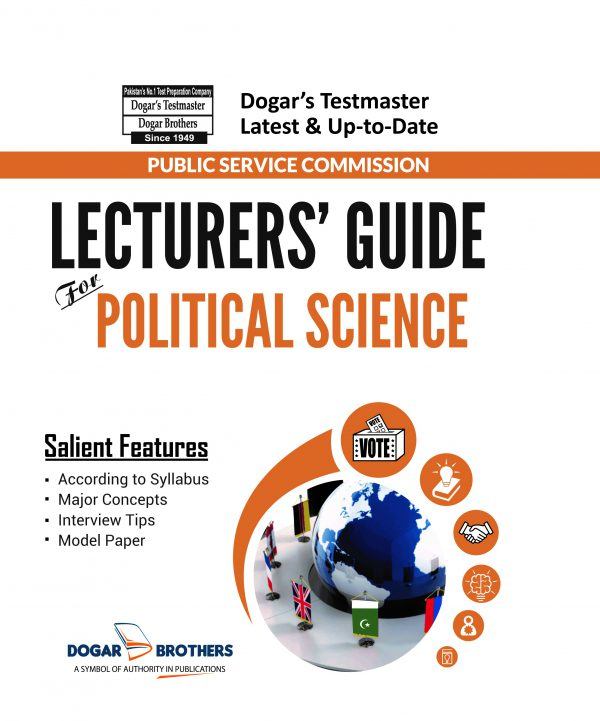 Lecturers Guide for Political Science by Dogar Brothers
