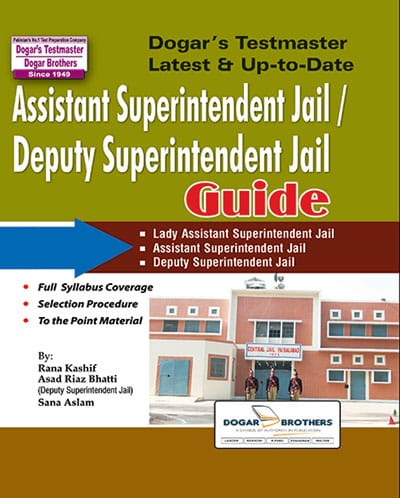 Assistant Superintendent Jail / Deputy Assistant Superintendent Jail Guide