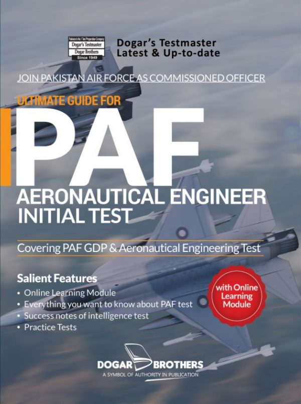 Ultimate Guide for PAF Aeronautical Engineering Initial Test