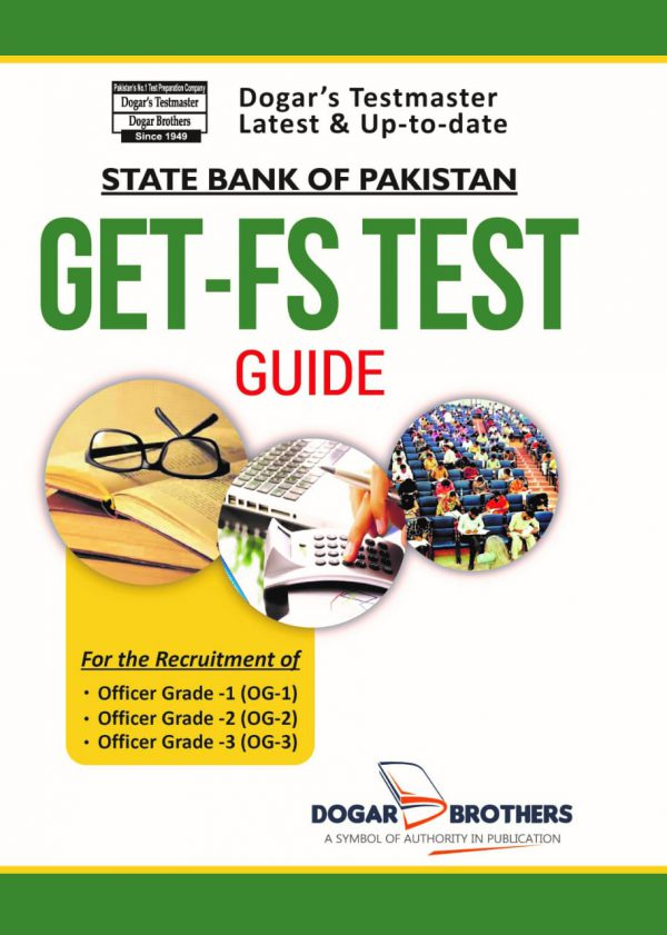 GET-FS Test (State Bank of Pakistan) SBP Book
