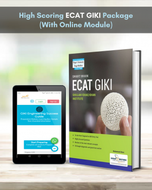 High Scoring ECAT GIKI Package (With Online Module)