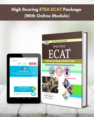 High Scoring ETEA ECAT Package (With Online Module)