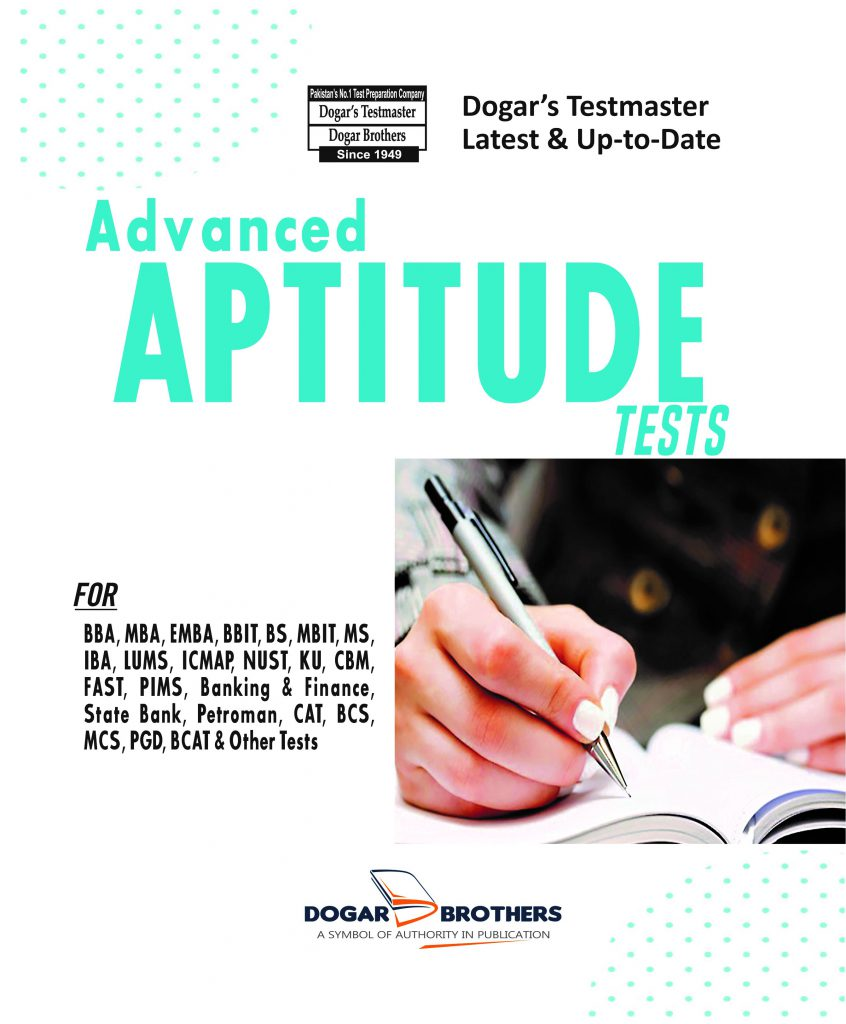 Advanced Aptitude Tests By Dogar Brothers