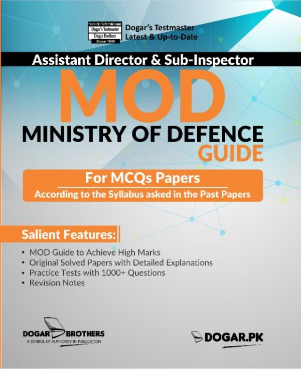 Assistant Director (MOD) Guide for MCQs Paper