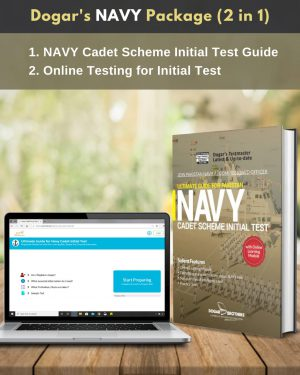 Navy Cadet Initial Test Guide + Online Testing (2 in 1)Package