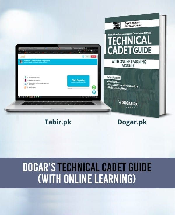Technical Cadet Guide With Online Learning Module (TCC