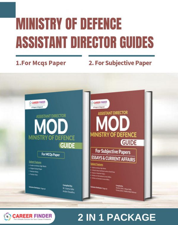 Assistant Director (Ministry of Defence) Guides – 2 in 1 Package
