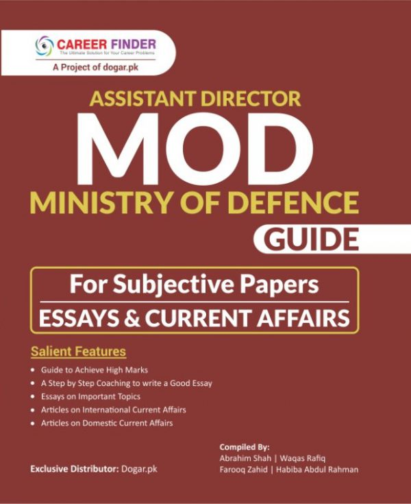 Assistant Director Ministry of Defence (MOD) Guide For Subjective Papers