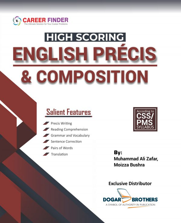 CSS High Scoring English Precis & Composition 2020 by Career Finder