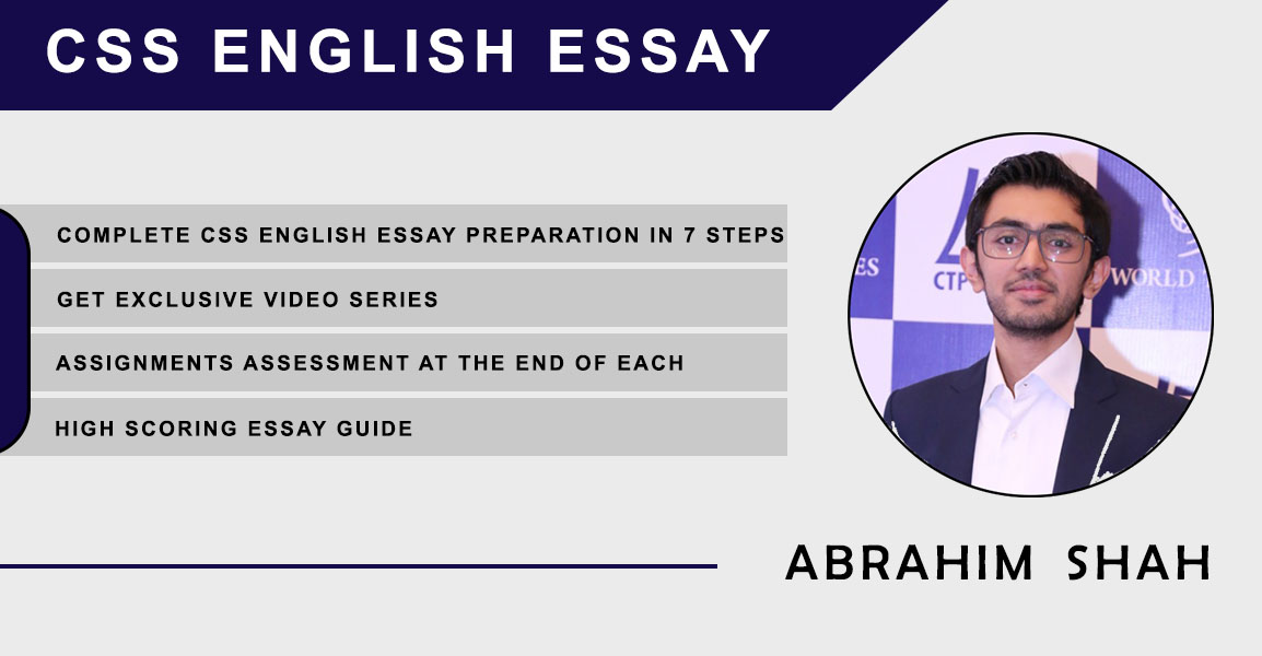 CSS ENGLISH ESSAY PREPARATION IN 7 steps