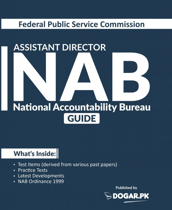 Assistant Director (National Accountability Bureau NAB) (FPSC) Guide