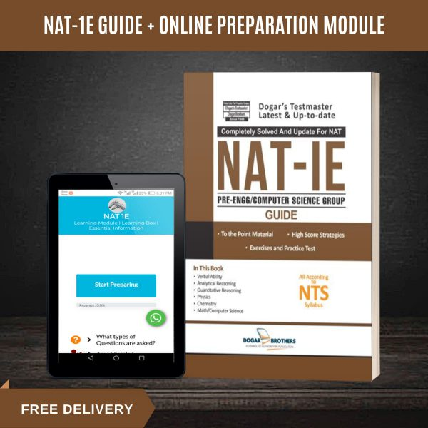 NAT IE Complete Guide – NTS (With Online Preparation Module) by Dogar  Brothers