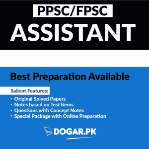 Assistant Post By PPSC & FPSC