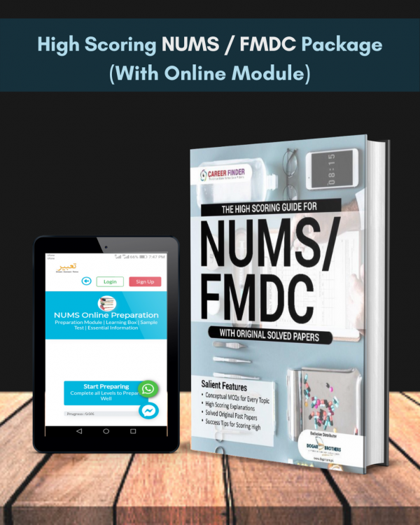 High Scoring NUMS / FMDC Package (With Online Module) 2