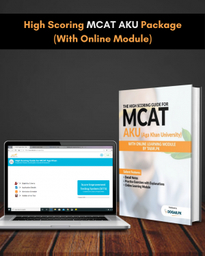 High Scoring MCAT AKU Package (With Online Module)