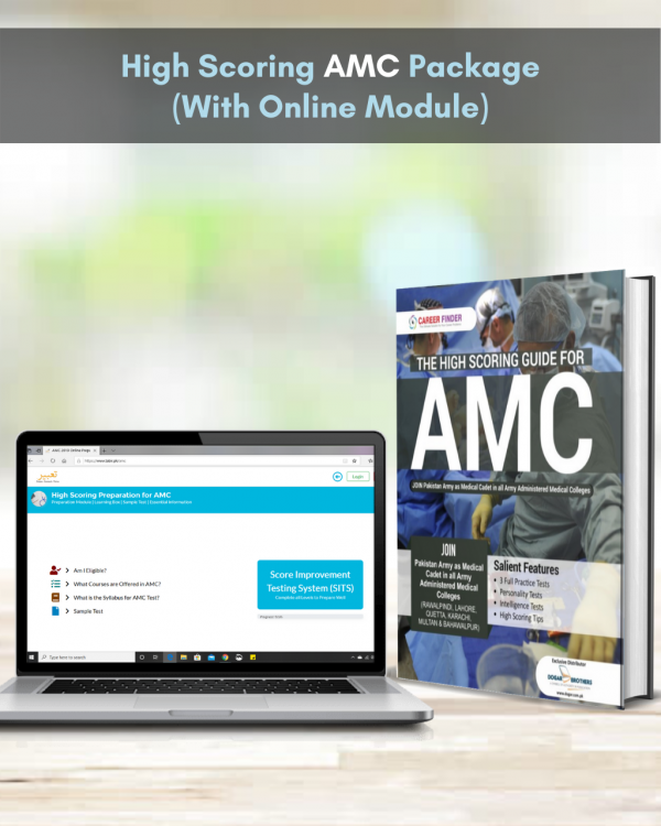 High Scoring AMC Package (With Online Module)