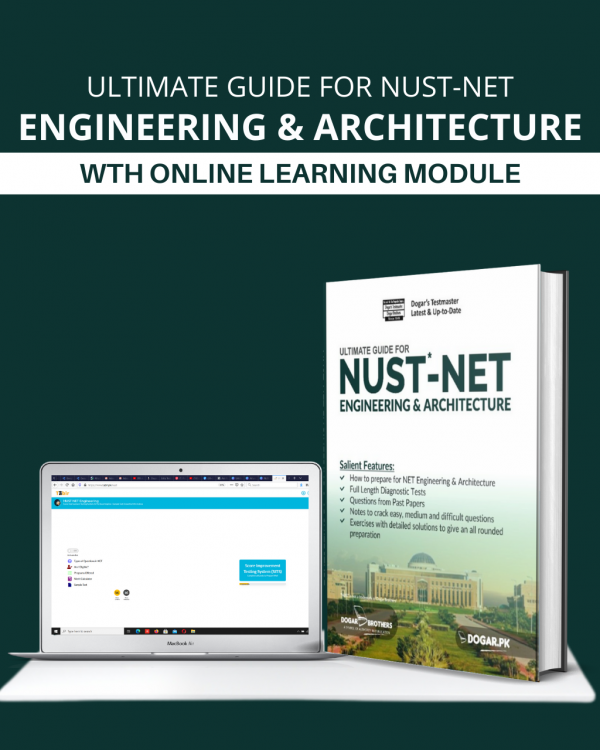 Ultimate Guide for NUST NET Engineering & Architecture Package (Guide + Online Preparation)