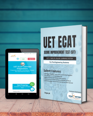 UET ECAT Score Improvement Test (SIT) with Tabir.PK Online learning For Pre-Engineering Students by Dogar Brothers