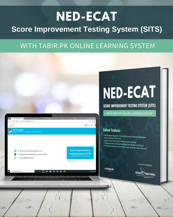 NED-ECAT Score Improvement Test System (SITS) with Tabir.PK Online learning System by Dogar Brothers