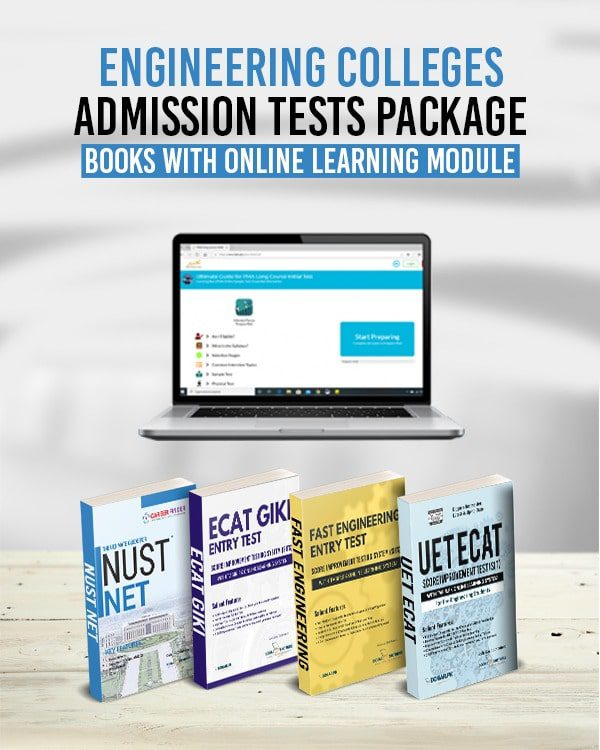 Engineering Colleges Admission Tests Package (Books with Online learning Module)