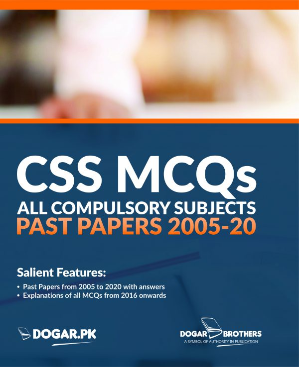 CSS MCQs Solved Past Papers (2005-2020) All Compulsory Subjects