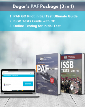 Join PAF GD Pilot. Prepare not for PAF Initial Test