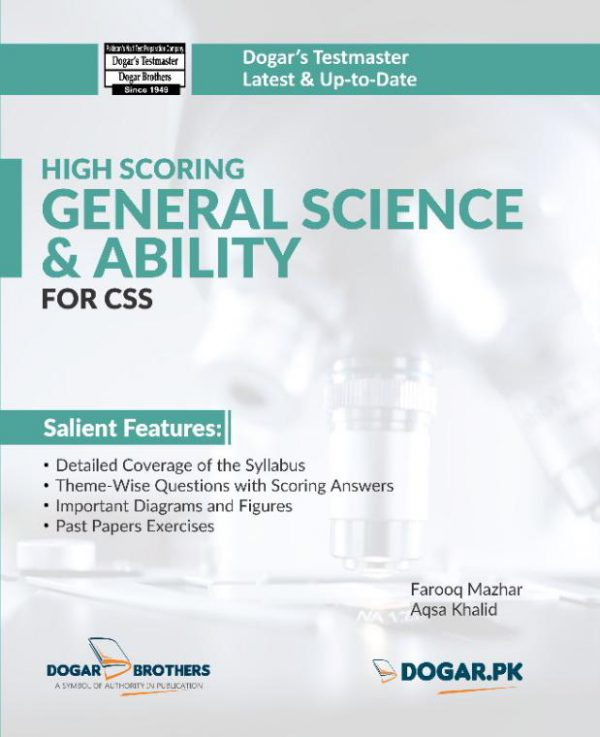 High Scoring FPSC CSS General Science and Ability Preparation Guide