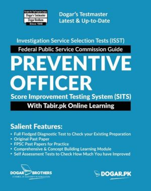Preventive Officer Score Improvement Testing System (SITS) With Tabir.PK Online learning