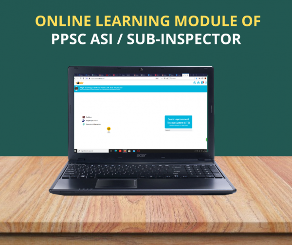 Online Learning Module of PPSC ASI / Sub-Inspector