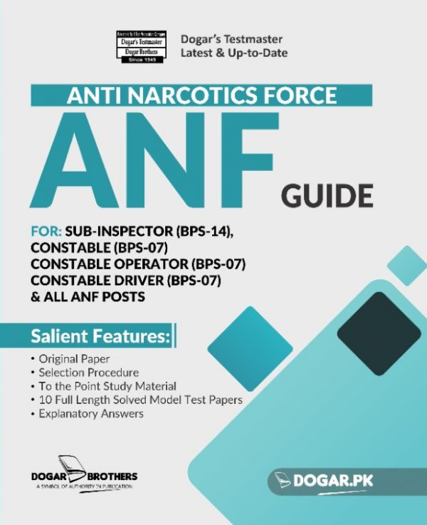 Anti Narcotics Force (ANF) Guide